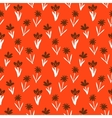 Seamless floral pattern with small flowers vector image