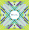 abstract background with retro styled design vector image
