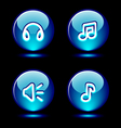 Ring buttons set vector image