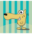 Cartoon Dog vector image vector image