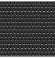 Metallic gray background vector image