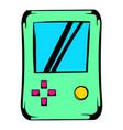 tetris icon icon cartoon vector image