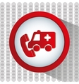 emergency service design vector image