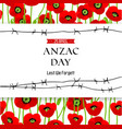 Commemorative Anzac background vector image