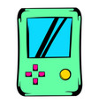 tetris icon icon cartoon vector image