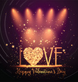 Happy Valentines Day background 0501 vector image vector image