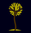 Artistic fantasy natural design symbol creative vector image