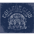 CollegeClub vector image