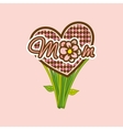 mom mother day vector image