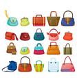 Purses vector image