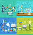 conceptual of science with different vector image