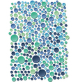 Sea bubbles vector image