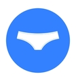 Underpants icon of for web and vector image vector image