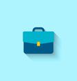 Flat Icon of Briefcase vector image vector image