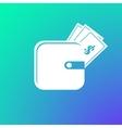 purse icon vector image