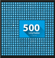 Set of 500 icons long shadow vector image