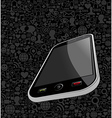 Iphone background vector image vector image