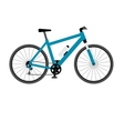 Mountain bike isolated on white background vector image