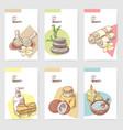 Spa wellness beauty brochure template vector image