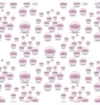Scattered Pearls Seamless Pattern vector image