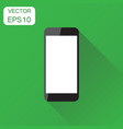 realistic smartphone icon business concept phone vector image