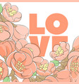 floral lovely vector image