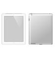 I pad tablet computer vector image