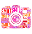 photo camera smile vector image vector image