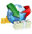 Global Money Transfer Concept vector image vector image