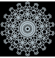 knitted napkin vector image