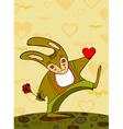 Hare Walk Rendezvous vector image