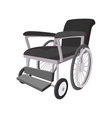 Wheelchair cartoon icon vector image