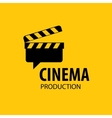 logo cinema vector image