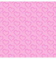 ornaments background pink heart vector image vector image