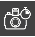 Timer on Camera vector image