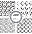 Ddoodle abstract pattern collection vector image