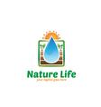 Nature Life Logo vector image
