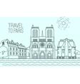 Paris Travel 03 A vector image