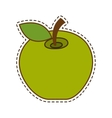 apple fresh fruit isolated icon vector image