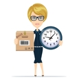 Women in Business vector image