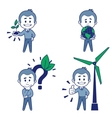 Ecologist vector image