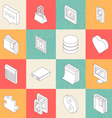 Modern Flat Icons 5 vector image