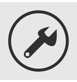 Repair icon on gray background vector image