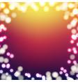 blur color background vector image