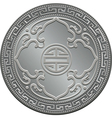 great britain silver coin vector image vector image