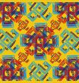geometric retungle print vector image