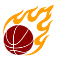 graphic basketball vector image