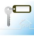 house key vector image