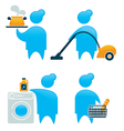 housewife vector image vector image