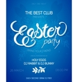 easter day party invitation vector image